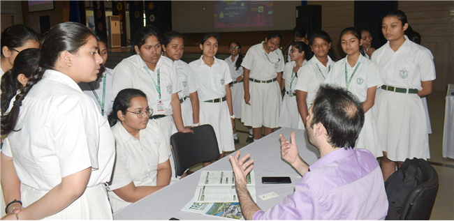 DPS Ranchi hosted the Global Education Fair 2019 presented by Blue Sky