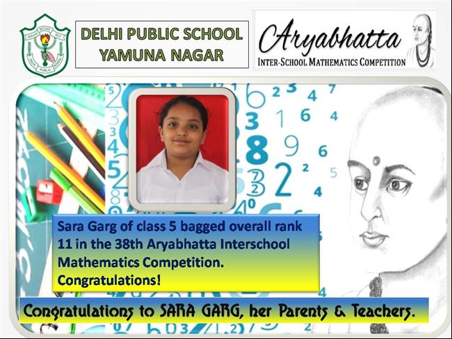 Aryabhatta Inter School Mathematics Competition