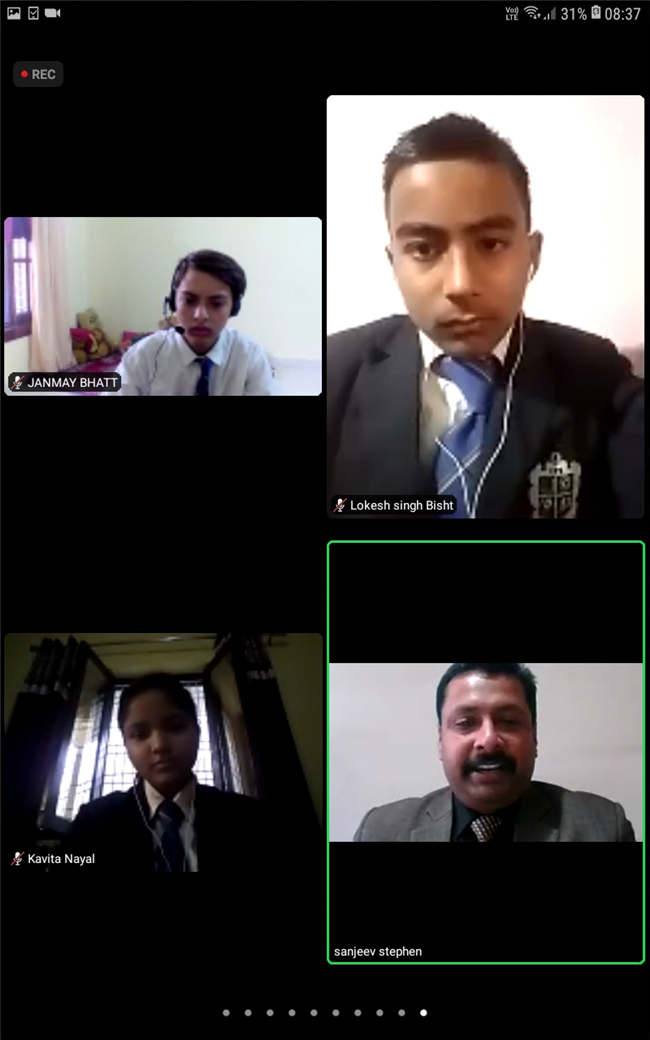 CAREER CONCLAVE, Day - 4 – 1st February 2021, INSPIRATION PUBLIC SCHOOL & TWIN WIN