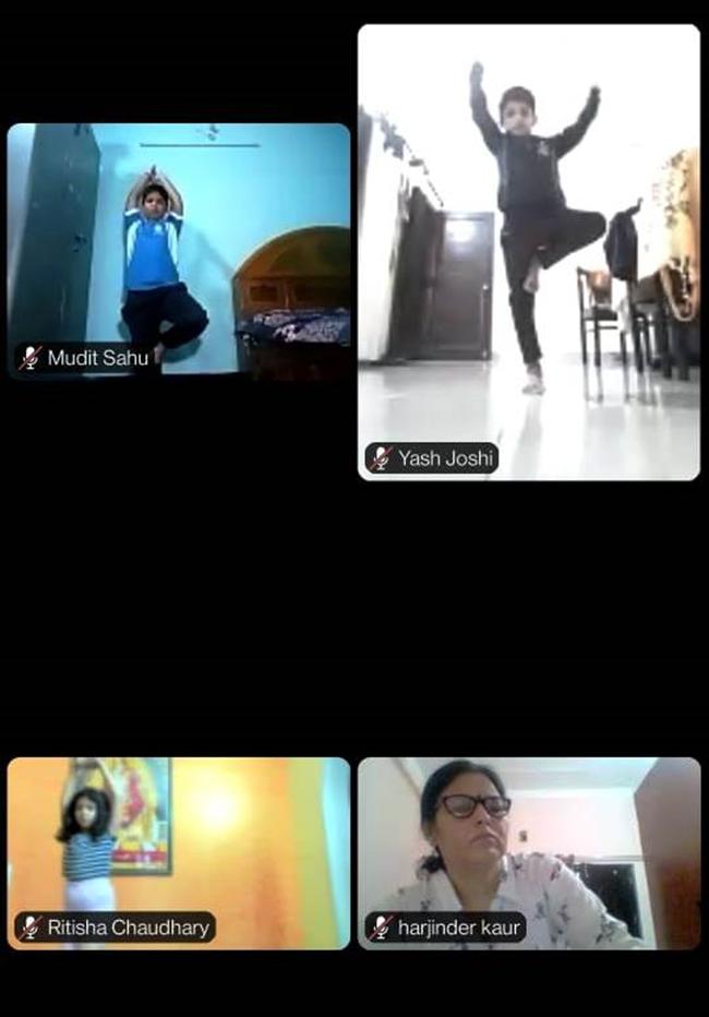 (Classes I to IV) International Yoga Day