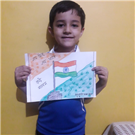 (Class-I) Flag Making Competition