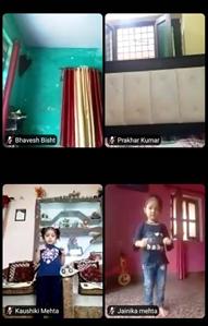 Activities of Class Nursery