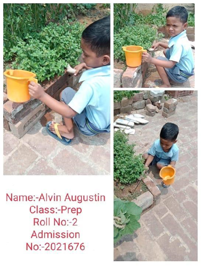 Good Deeds by Class Prep & KG Students.
