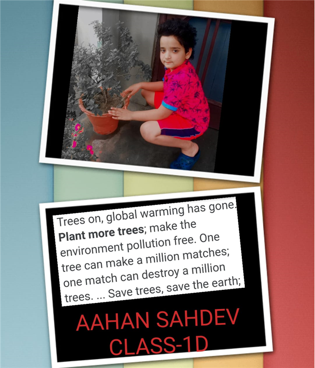 Good Deeds by Class 1 Students