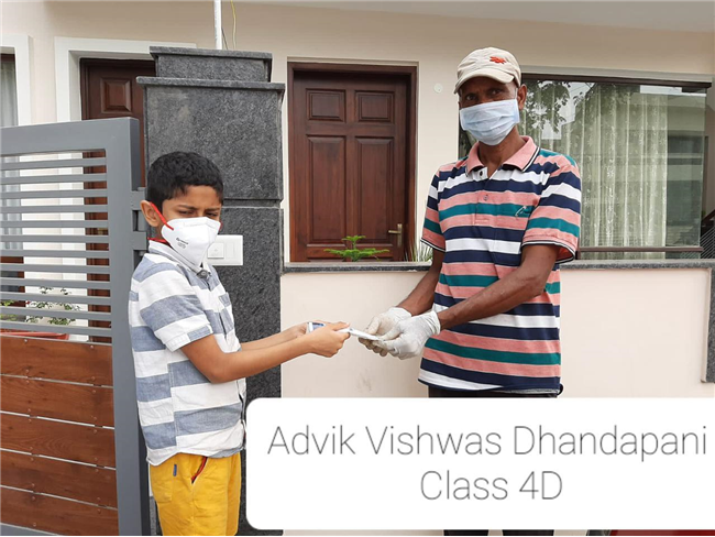 Good Deeds by Class 4 Students
