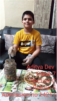 Good Deeds by Class 7 Students.